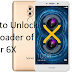 How to Unlock Honor 6X Bootloader Working Method
