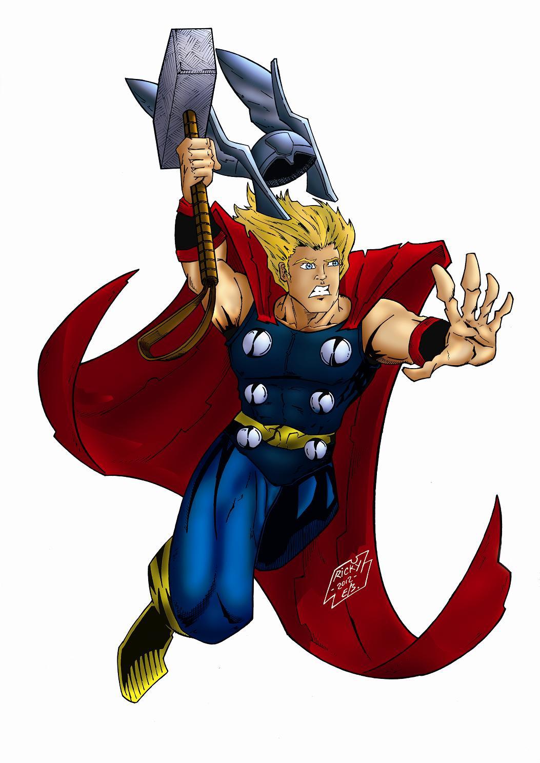 Marvel Thor Clipart Golfclub