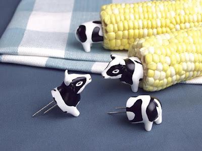 Cow Corn Holders
