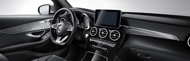 design interni mercedes glc
