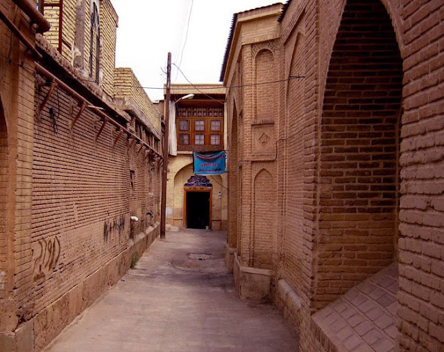 Old alleys of Shiraz.