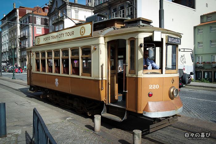tramway vintage, Porto