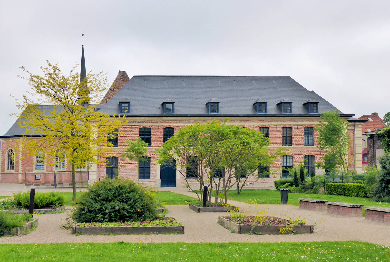 Le jardin de l'hospice d'Havré à tourcoing