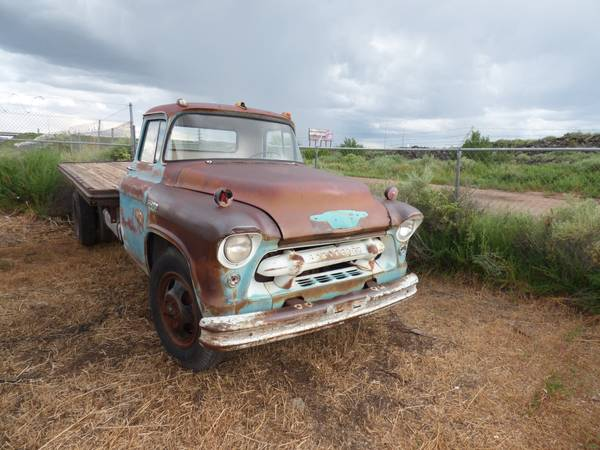 1955 Chevy 6500 Flatbed Truck