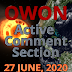 Active Comment Section |  27 June - current