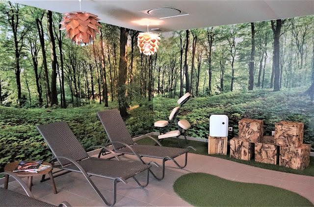 L'espace détente de la Forêt d'Emeraude