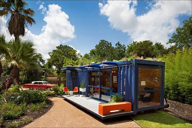 Casa de hospedagem container reciclado
