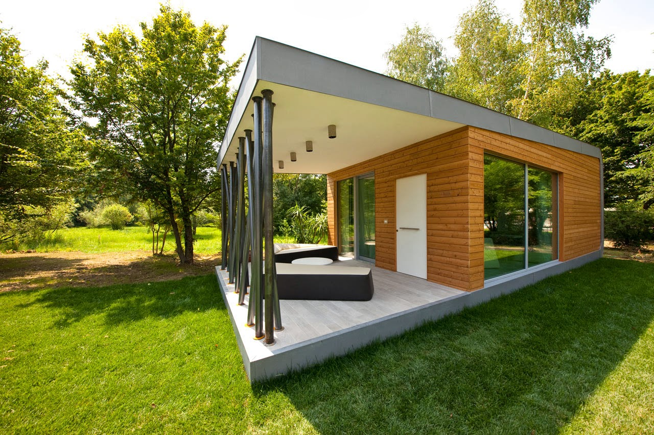 Eco friendly home green zero house modern home design for Green modern home designs
