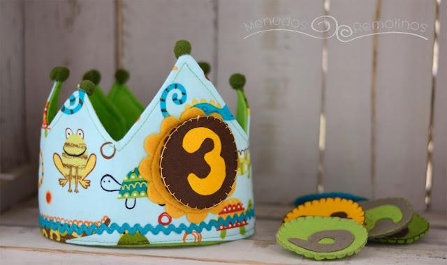 Corona de cumpleaños selva tropical