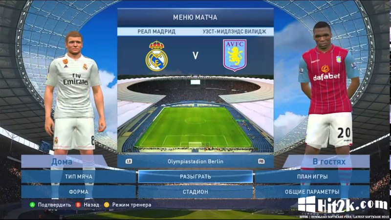 PTE Patch 5 0 PES 2016 - Hit2k | Download Software Free