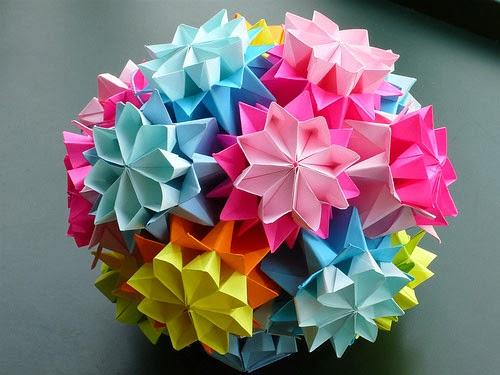 Teks Prosedur Cara Membuat Bunga Dari Kertas Origami Berbagai Teks Penting