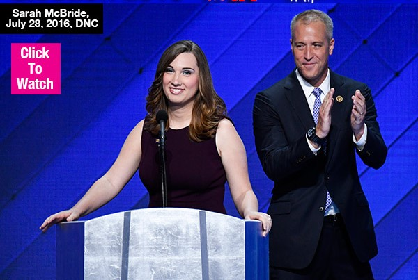 Sarah McBride Makes History As 1st Transgender To Speak At Major Party Convention: Watch