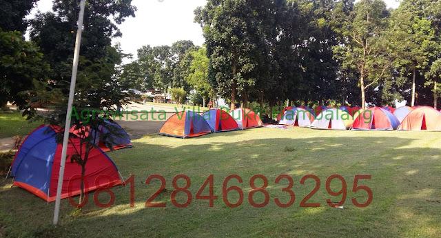 Tempat Camping Sekolah daerah Wana Wisata Bukit Hambalang Hill