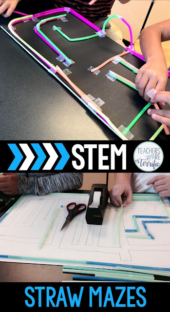 STEM Quick Challenge: Easy materials, very quick set-up, and great fun! Check this blog post for more hints about making STEM easy!