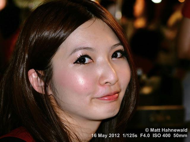 people, street portrait, headshot, Taiwan, Taipei, Taiwanese woman