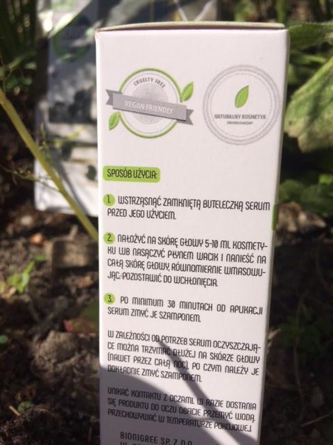 Serum oczyszczające do skóry głowy - Bionigree