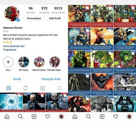 Selowae.Net hadir di Instagram