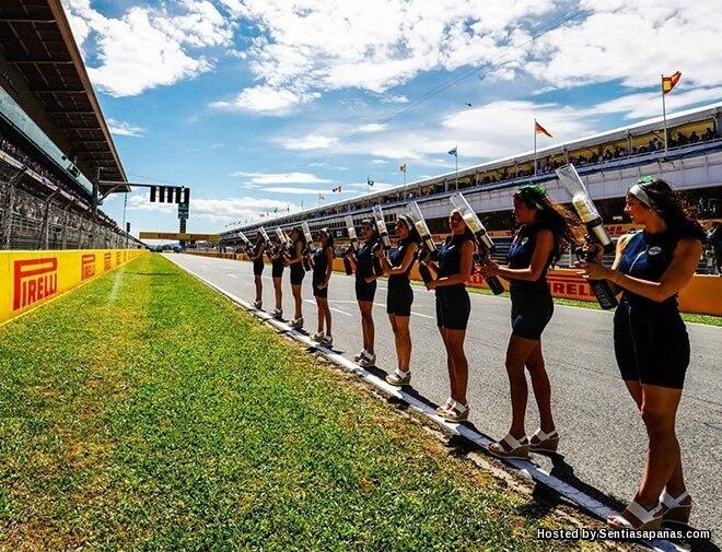 F1 Henti Khidmat Gadis Litar