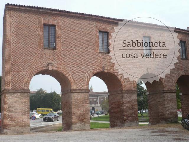 Cosa vedere a Sabbioneta: la città ideale. la porta d'accesso
