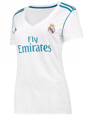 camiseta Real Madrid 2017-2018 mujer