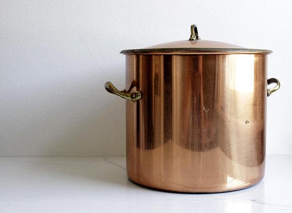 Vintage Brass Kitchen Faucet