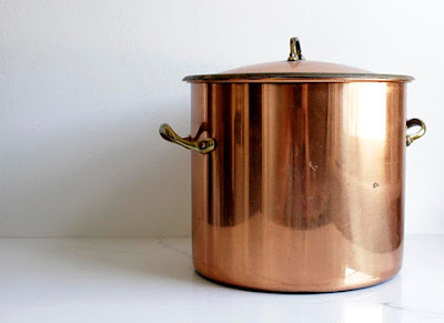 Copper Soup Pan