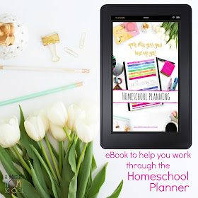 Homeschool Planning eBook to use alongside the Homeschool Planner designed for Musim homeschoolers