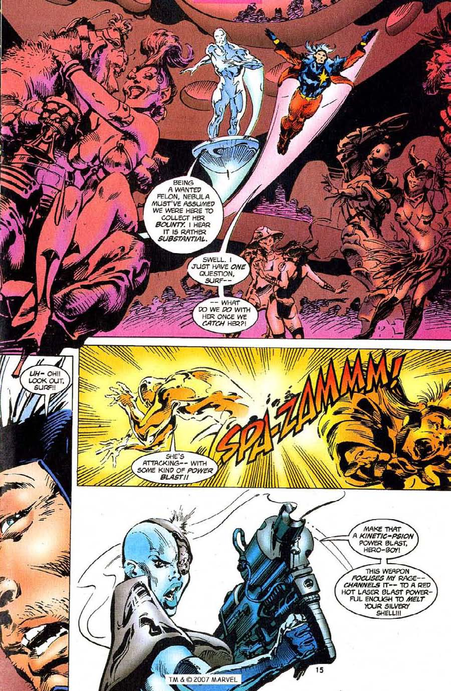 Read online Silver Surfer (1987) comic -  Issue #110 - 17