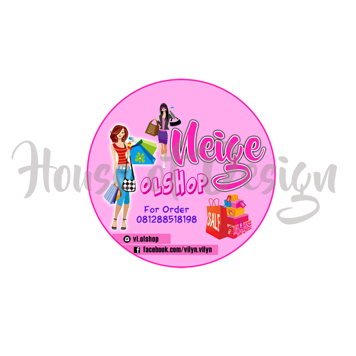 DESIGN LOGO PRODUK FASHION NEIGE OLSHOP