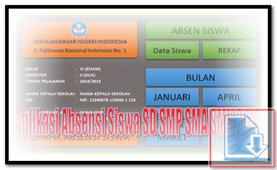 Download Aplikasi Absensi Siswa