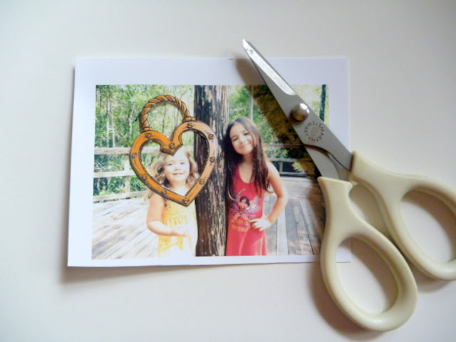 How to Create Heart-Shaped Photo Charms by Dana Tatar