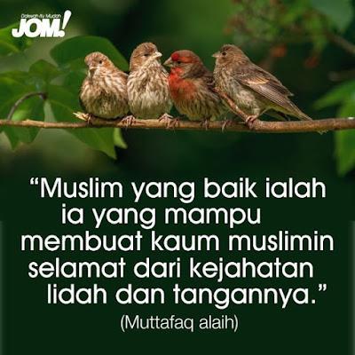 Menjaga Lidah Tuntutan Islam,