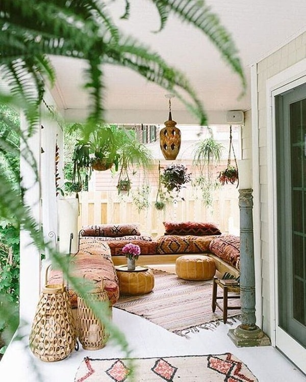 11 Ideas About Boho Chic Terraces - Very Cozy To Enjoy With Your Family 3