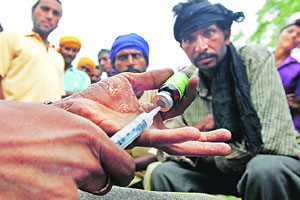 Punjab youth into drugs