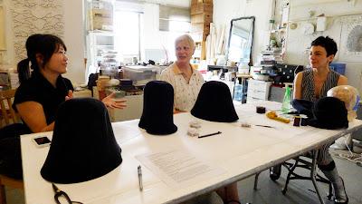 201302cef5fc7 Jane D'Arensbourg hosts Freeform Hat Blocking Workshop   Sculptural ...