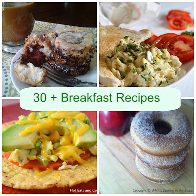 30+ Breakfast Recipes from the Blogs I Love
