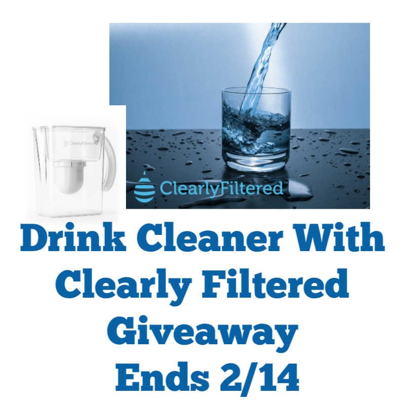 Drink Cleaner W/ Clearly Filtered Giveaway