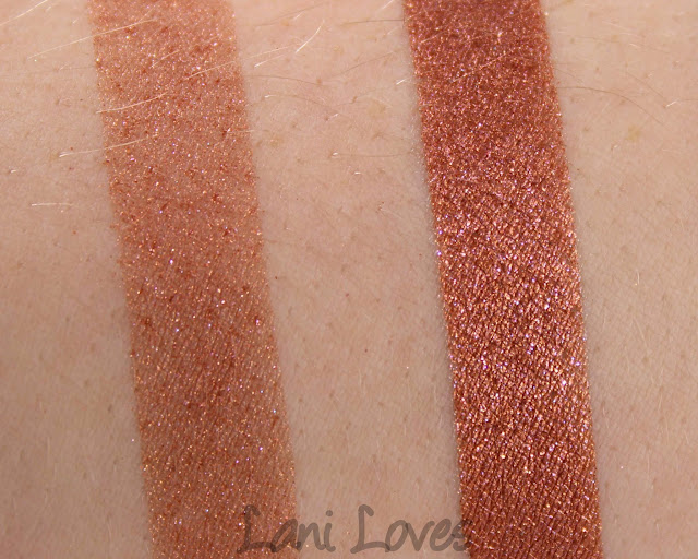 Darling Girl Eyeshadows - Tatti-Too Swatches & Review