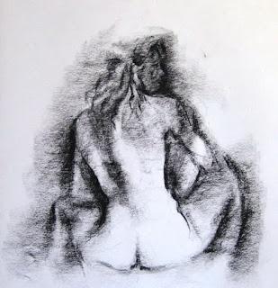 Bocetos Desnudos Femeninos Lapiz