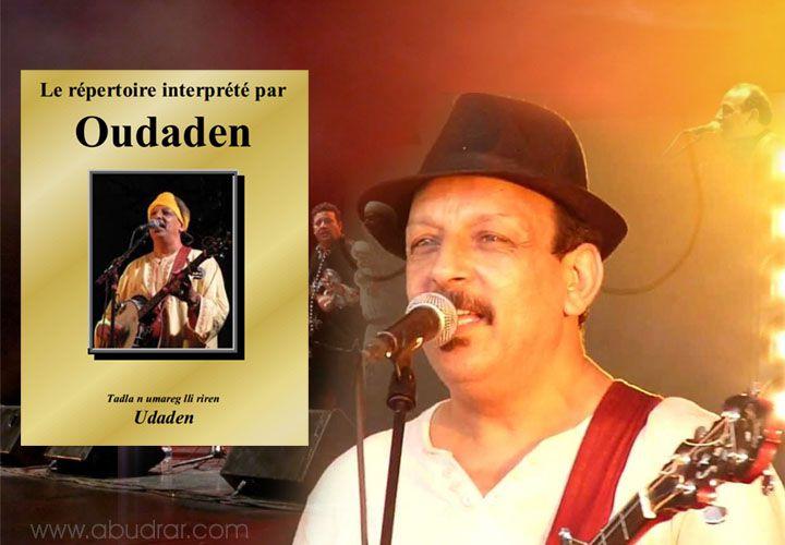 Le répertoire interprété par Oudaden livre de Lahsen Oulhadj