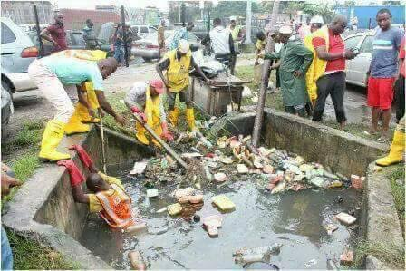 Image result for Lagos drainages