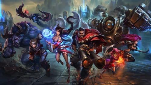 League of Legends. League of Legends (popularmente chamado de LoL) é um jogo multiplayer  para computador, desenvolvido e publicado pela Riot Games. É um jogo gratuito para jogar. Ele foi inspirado no modo Defense of the Ancients de Warcraft III: The Frozen Throne.