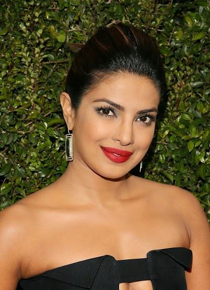 Priyanka Chopra's Bright Red Lip Color
