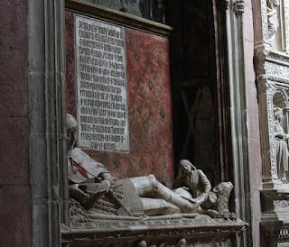 La estatua semiyacente del Doncel, en la catedral de Sigüenza