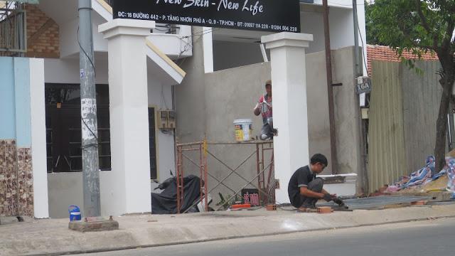 Công trình thi công sửa chữa nhà quận 9