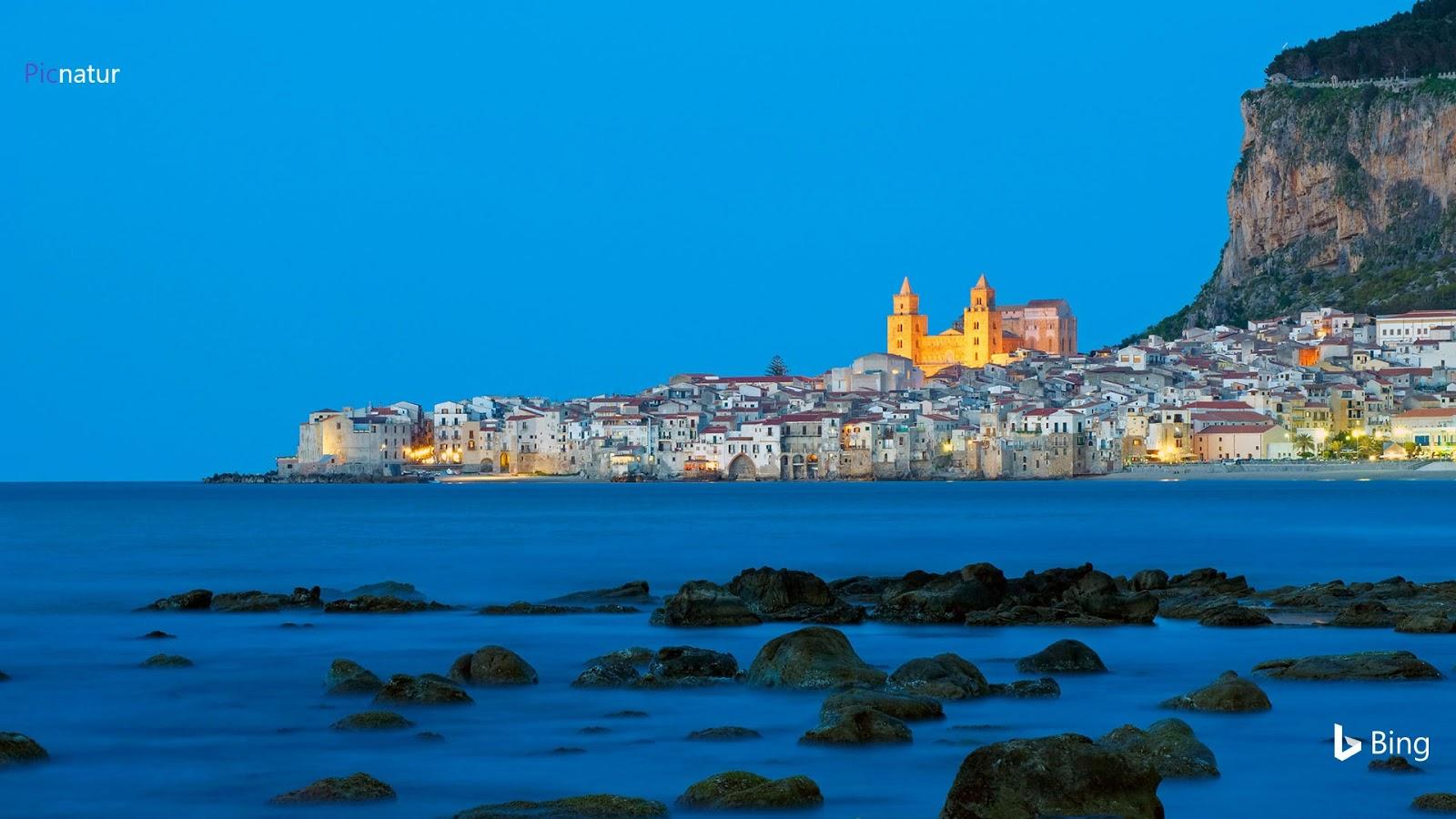 Cefalù on the Tyrrhenian coast in Sicily, Italy © tuul & bruno morandi/eStock Photo