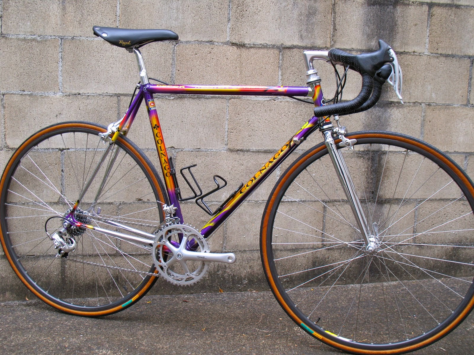 e82fd3597 This one with Campagnolo C Record group and Cobalto brakeset.