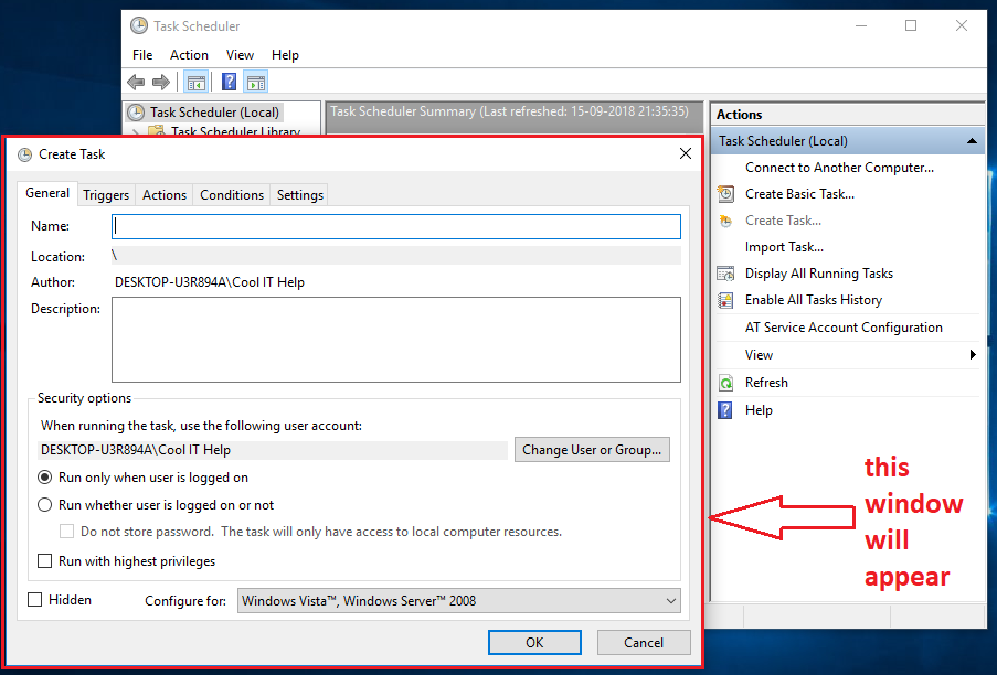 COOL IT HELP: How to execute  jar file from Windows Scheduler?