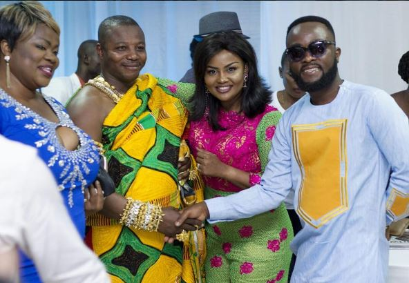 Nana Ama Mcbrown and her husband meet Mercy Asiedu's husband