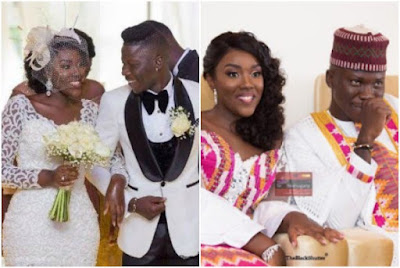 Stonebwoy's ex-girlfriend reacts to his wedding, says she feels used and dumped